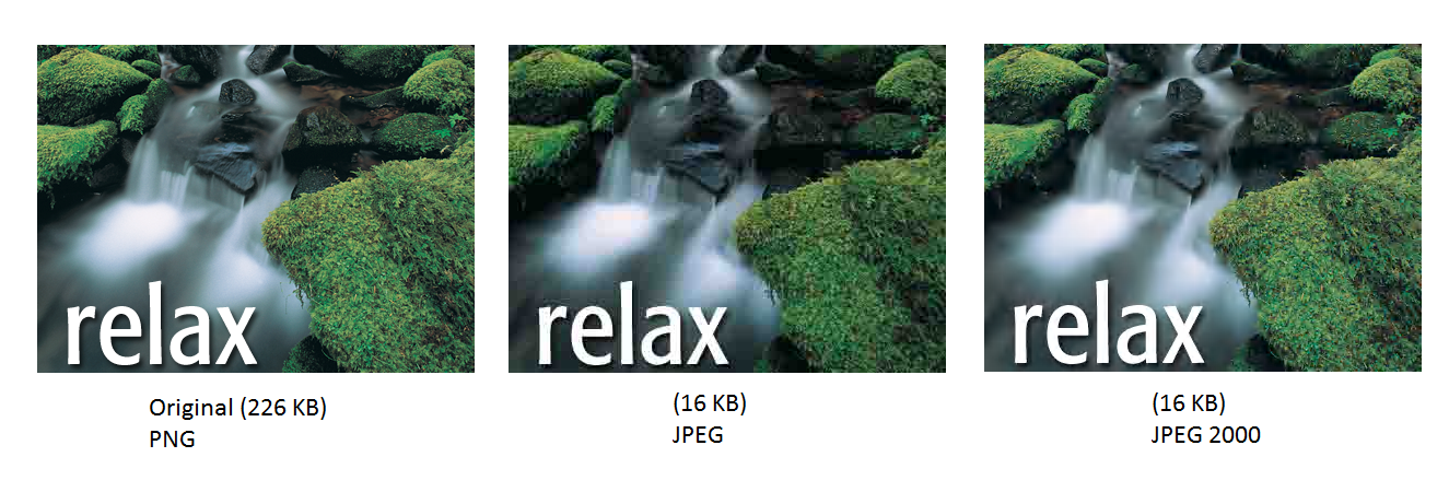 Image Processing with MATLAB: JPEG VS JPEG 2000.