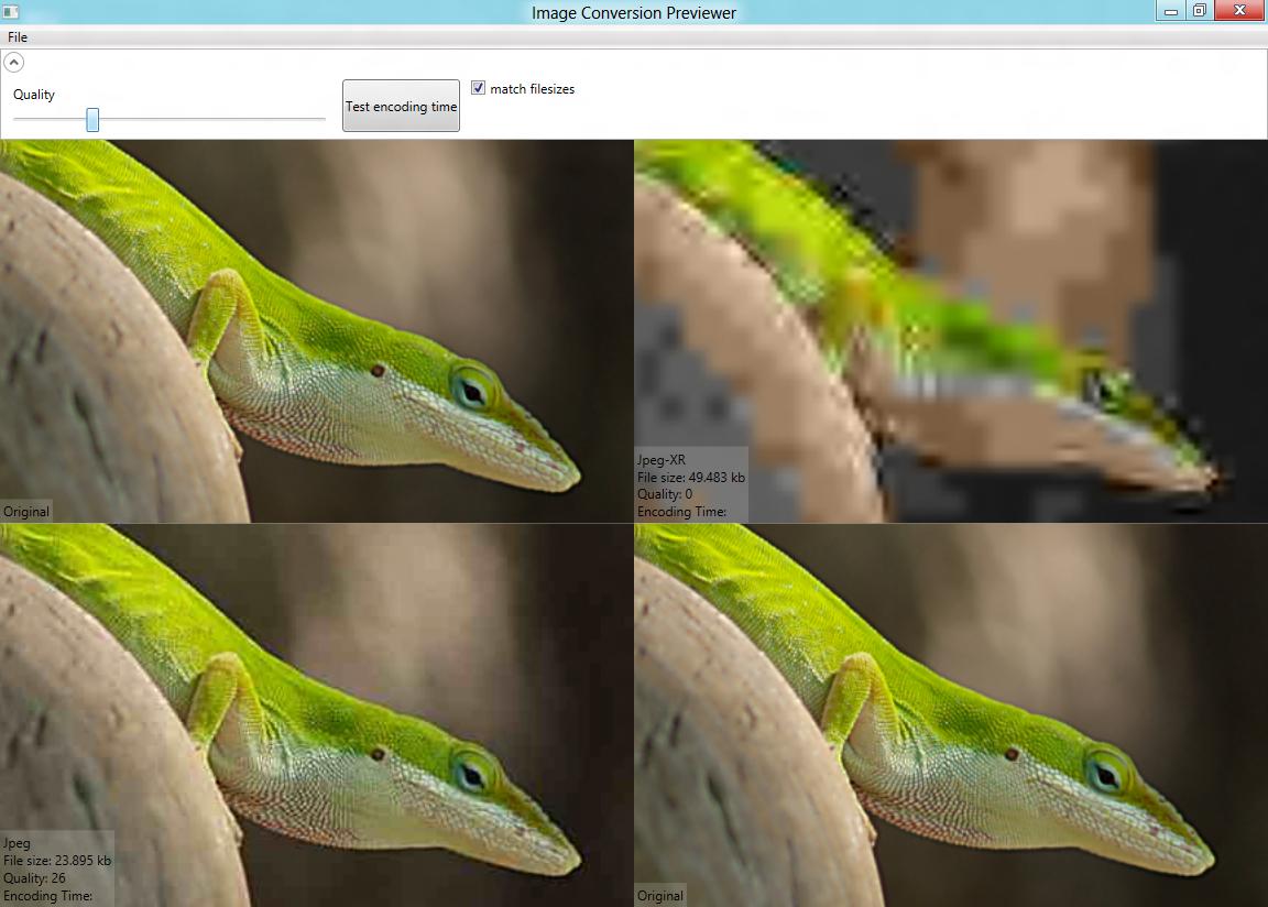 JPEG XR encoder bug.