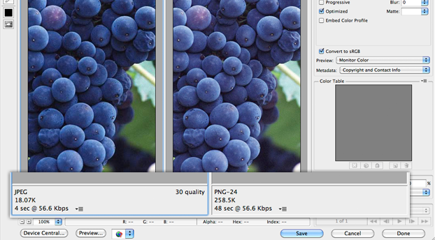 Exporting Graphics for Mobile Apps: PNG or JPEG?.