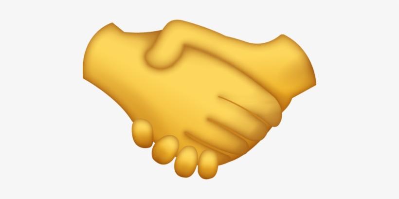 Download Handshake Iphone Emoji Icon In Jpg And Ai.