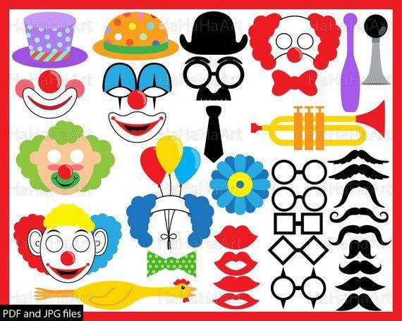 Clown Props.