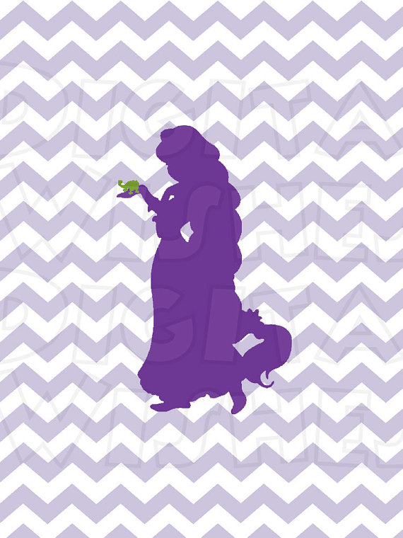 Jpg Disney Rapunzel Shadow Clipart.