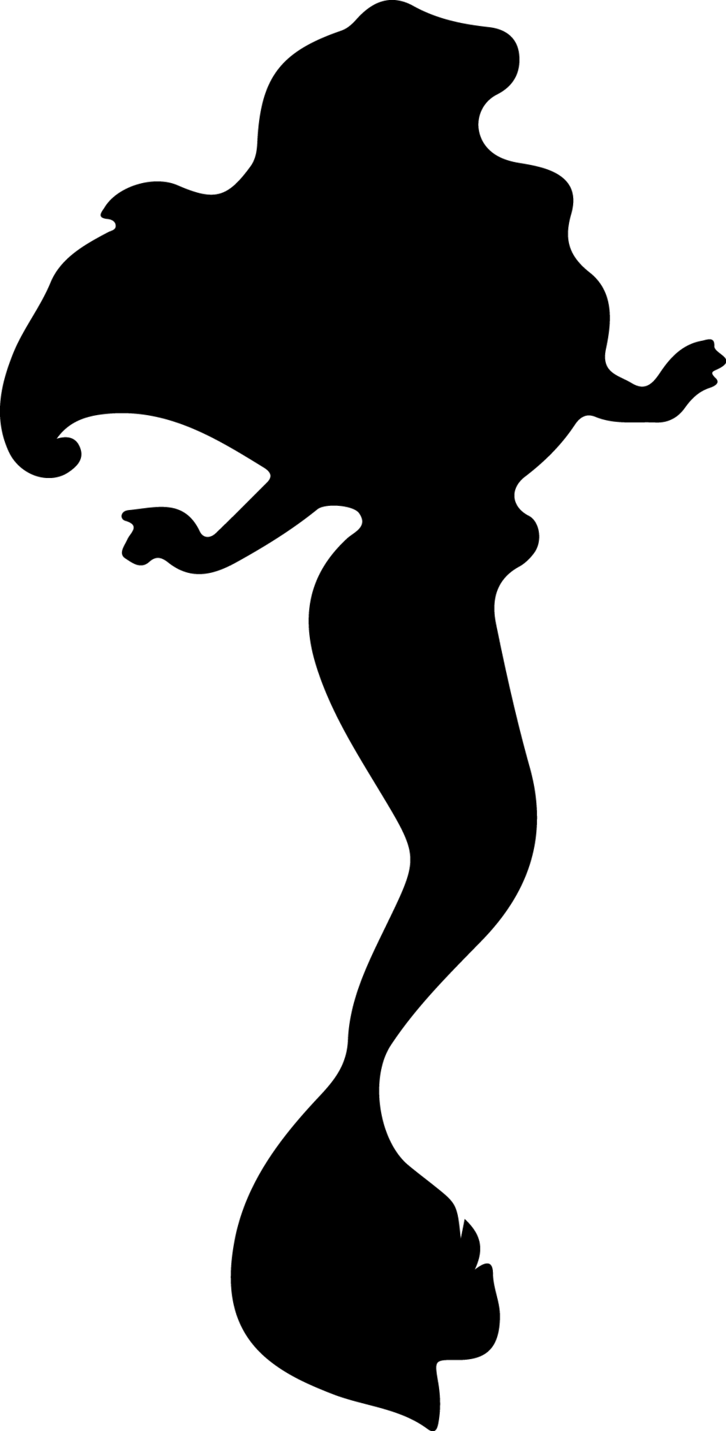 Jpg Disney Ariel Shadow Clipart Clipground