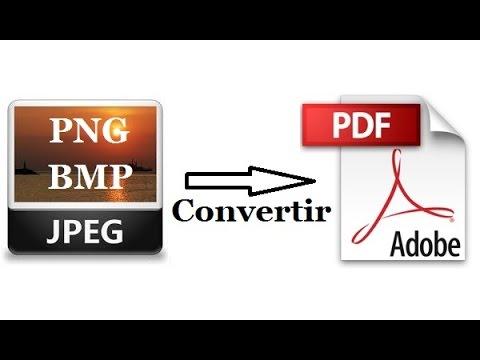 Comment convertir une image en PDF (JPEG, JPG, PNG, BMP…).