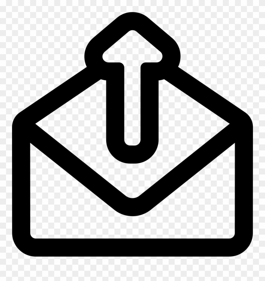 Jpg Library Download Email Clipart Opened Envelope.