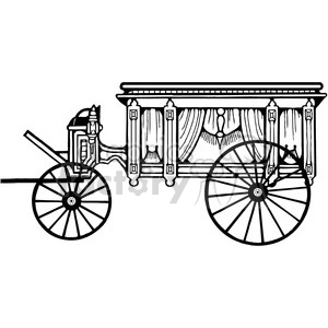 Download Free png Antique Hearse 3 clipart. Royalty.