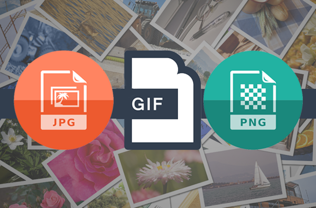 Know The Type Of File And When To Use JPEG, PNG, and GIF.