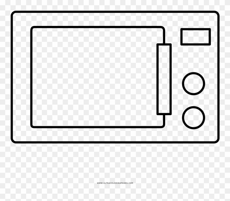 Jpg Library Stock Microwave Ovens Drawing Coloring.
