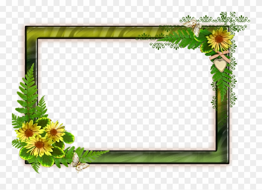 Jpg Png With Flowers On A Transparent Background.