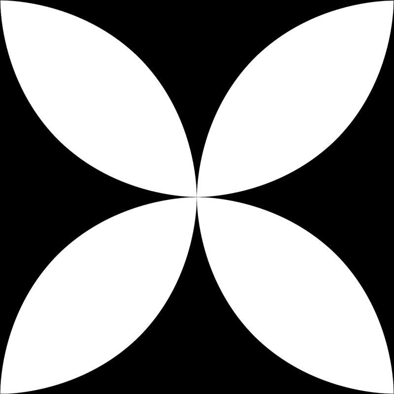 15x15 Retromix Tile Black.