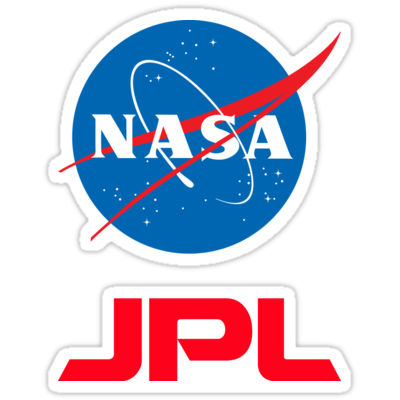 NASA + JPL Sticker — DevStickers.