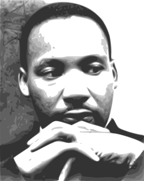 Martin Luther King Junior Clipart.