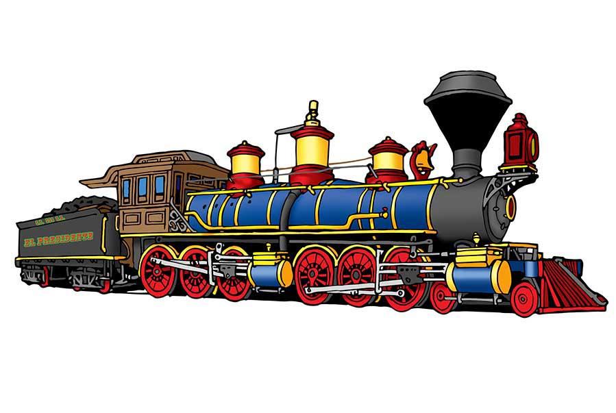Train Conductor Clipart.