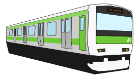 Japan Train Clipart.