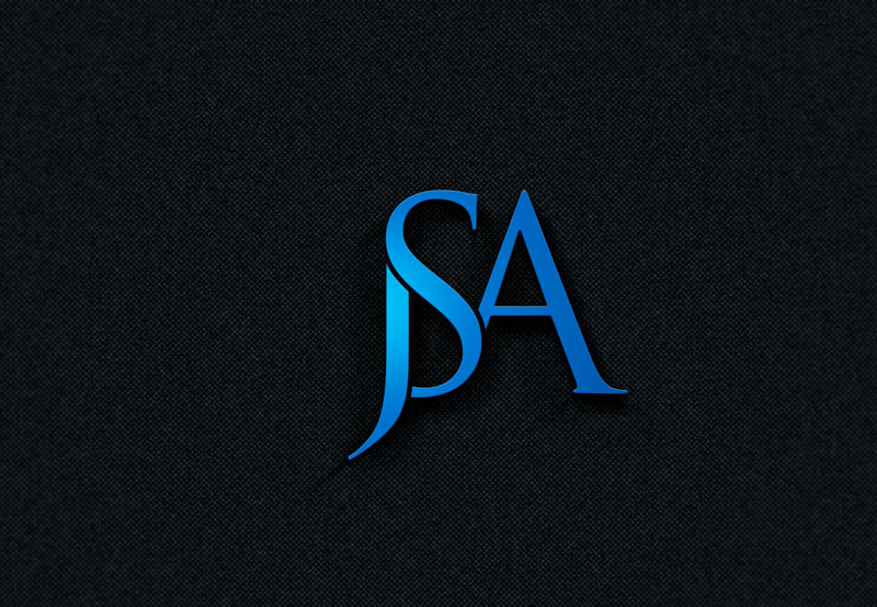 Bold, Serious, Consulting Logo Design for JSA by.