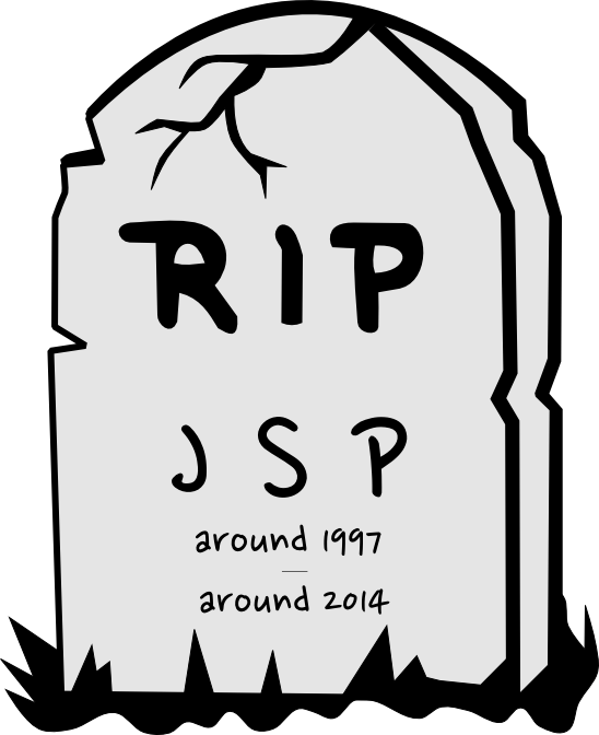 iWAOW !: Has REST architecture finally put JSP to rest ?.