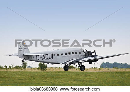 "Pictures of ""Junkers JU 52, a historic three."