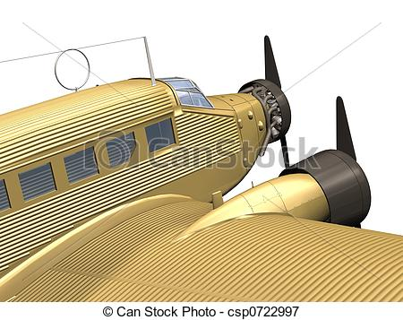 Stock Illustrations of airplane.