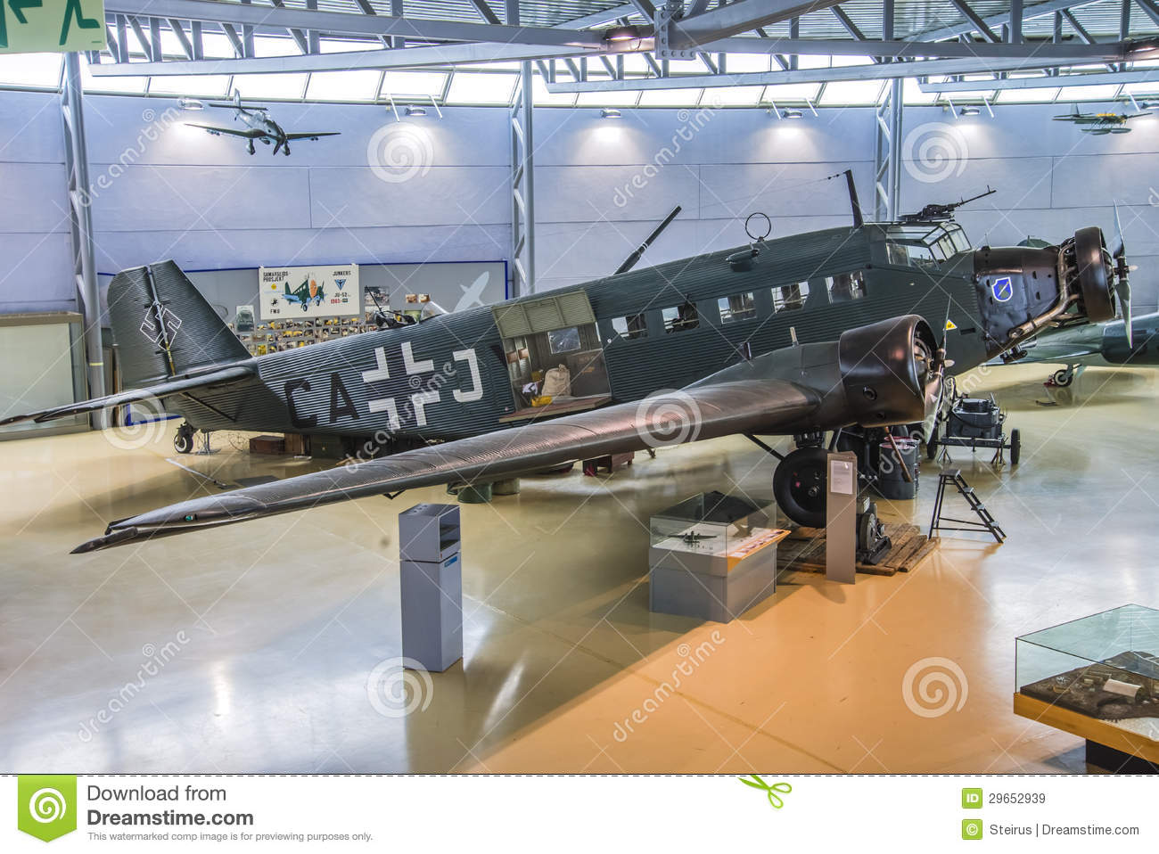 Aircraft Type, Junkers Ju 52 Editorial Stock Image.