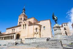 Statue Of Juan Bravo, Segovia, Spain Stock Photo.