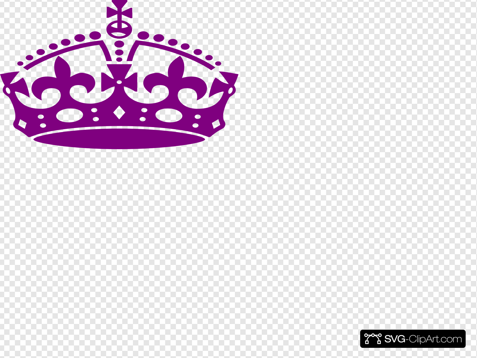 Jubilee Crown Purple Clip art, Icon and SVG.