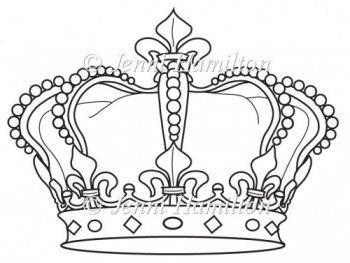 3d Paper Crown Template Jubilee Crown.