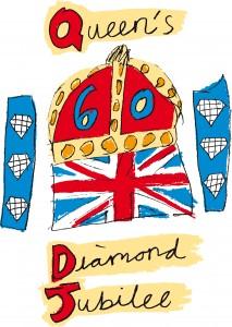Queen Elizabeth II Diamond Jubilee Medal.
