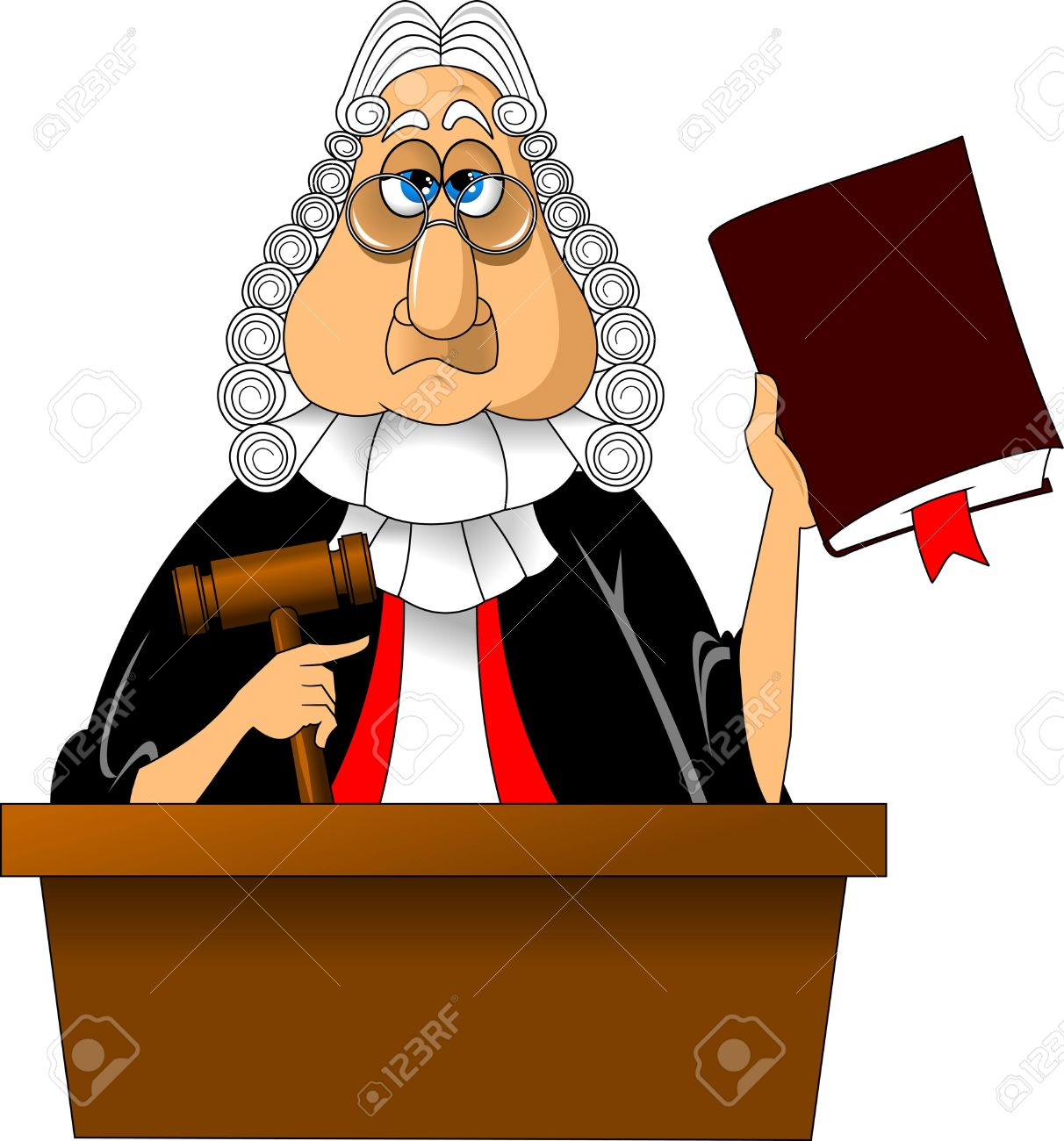 Judge clipart free.
