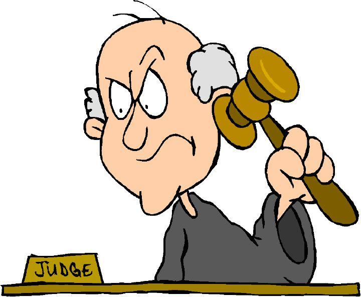 Judge Clipart.