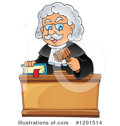 Judge Clipart #1201514.