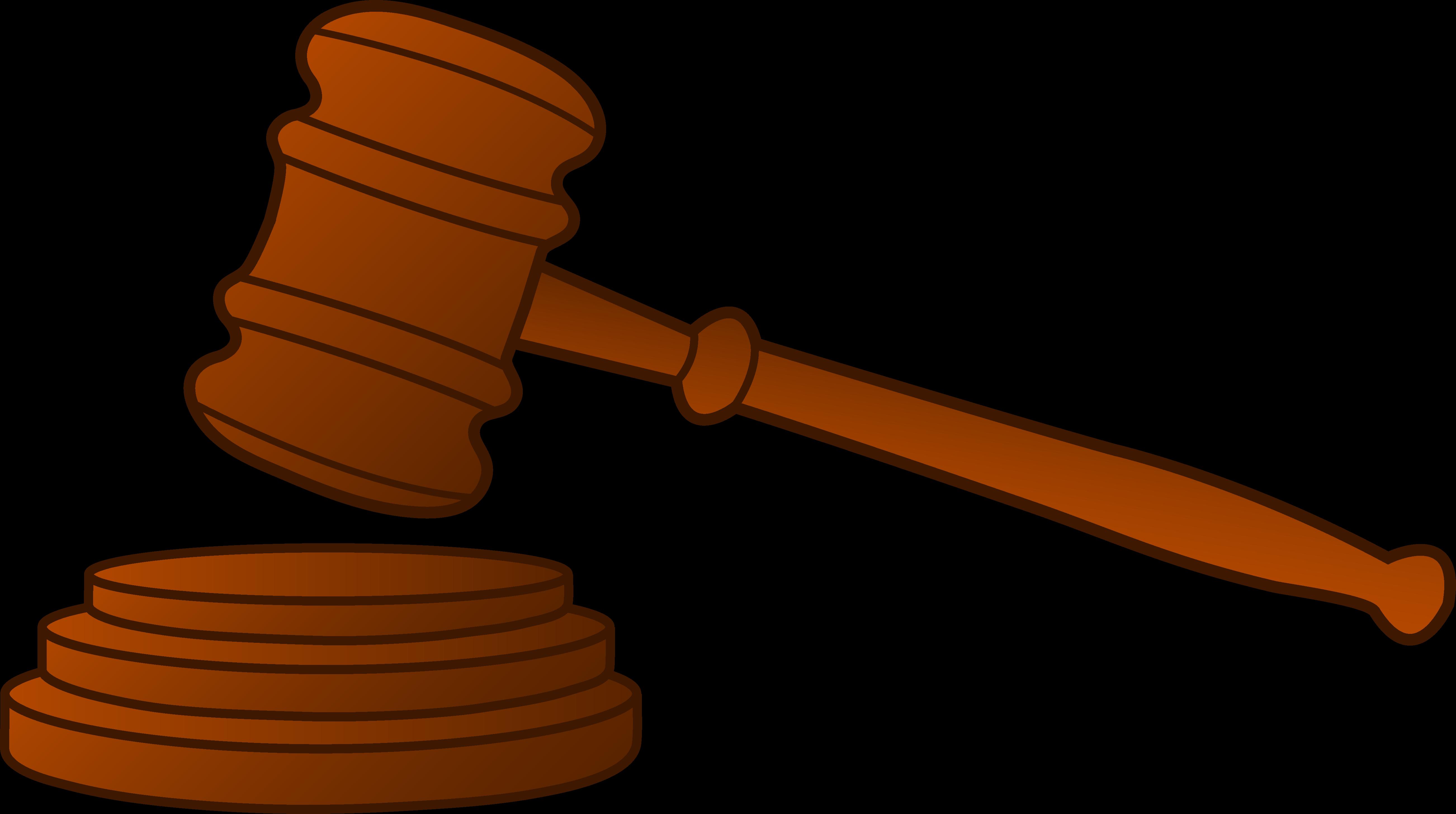 Judge Hammer Cliparts.