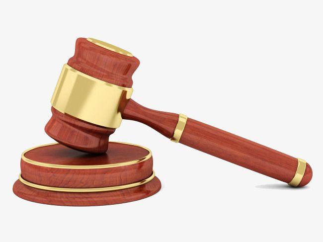 Judge Hammer, Judge Clipart, Hammer Clipart, Legal PNG Transparent.