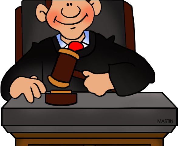 Politics Clipart Panel Judge.