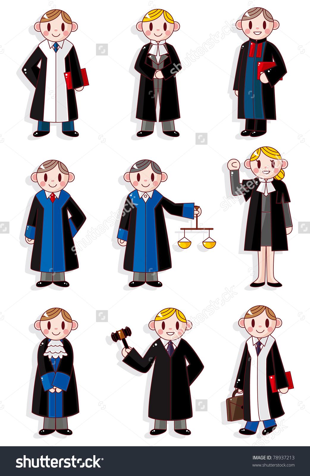 Judge Wig Stock Illustrations & Cartoons.