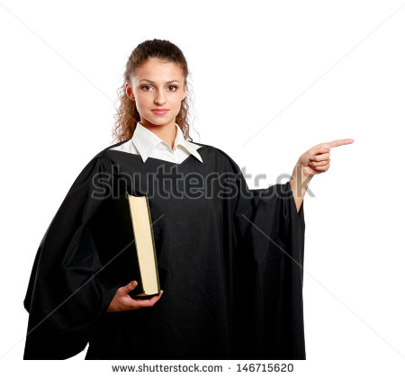 Judges Robe Stock Photos, Royalty.