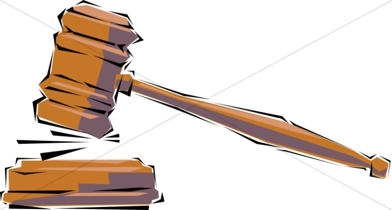 Judge gavel clipart 8 » Clipart Station.