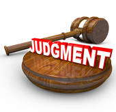Judgement Clip Art.