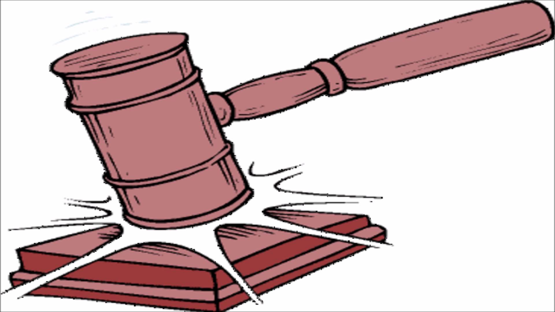 judges gavel clipart clipground