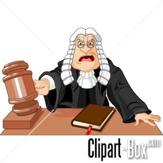CLIPART JUDGE.