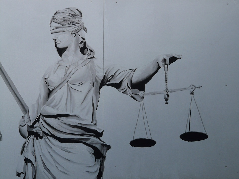 Free photo Justice Horizontal Justitia Judgmental Justitia.