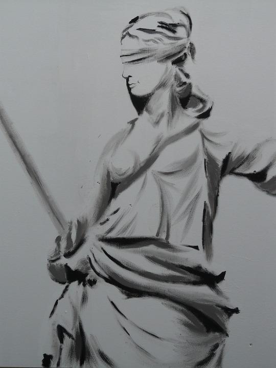 Free photo Justitia Judgmental Justitia Justice Horizontal.