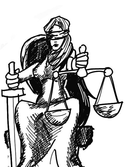 law Justitia libra.