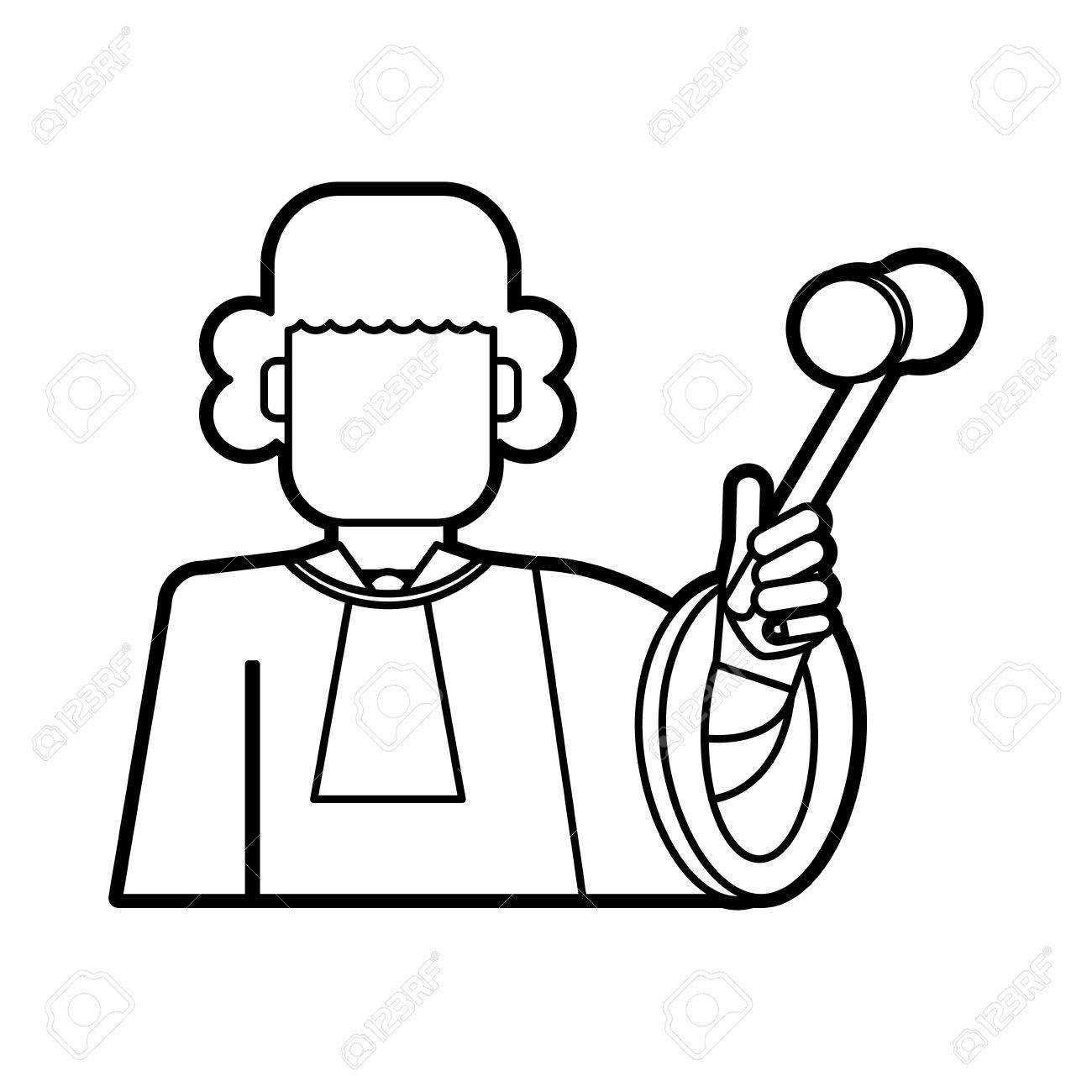 Judicial Branch Drawing.