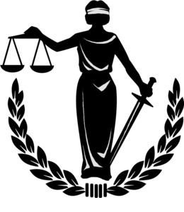 Judicial Review clipart.