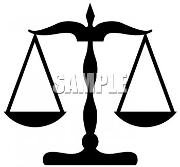 Judicial Scales Clipart; Scales Of Justice ., Scales Of Justice.