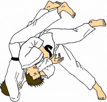 Judo Clipart.