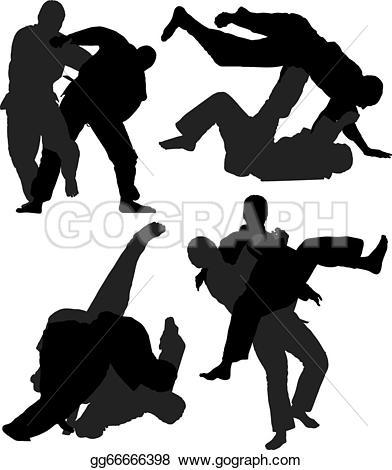Judo Clip Art.