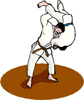 Judo Clipart Page 1.