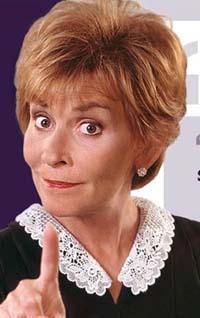 Judge Judy Clipart.