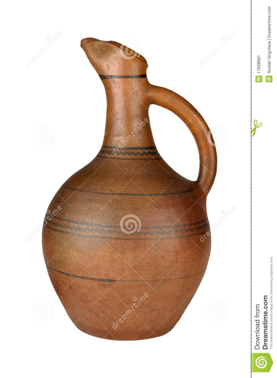 Jug Wine Stock Image.